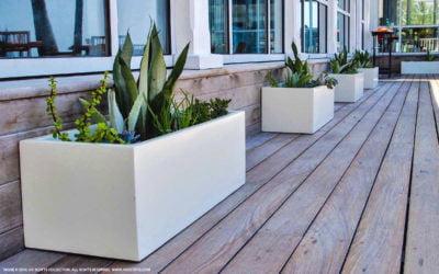 What Makes A Fiberglass Planter